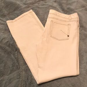Cream colored Sigred Olsen jeans